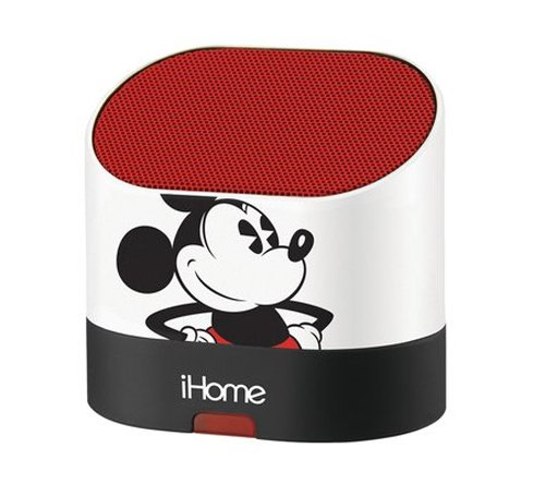 Ekids Mickey Mouse Rechargeable Speaker For All Mp3 Players, Iphone, And Ipad, By Ihome - Dy-M63