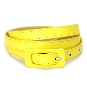 Love The Belt Women's Colorful Skinny Belt 32 - 36