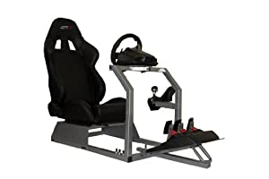 GTR Racing Simulator - GTA Model with Real Racing Seat, Driving Simulator Cockpit Gaming Chair with Gear Shifter Mount from GTR Simulator