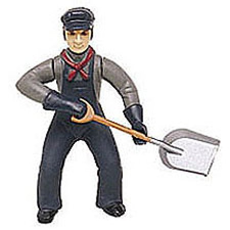 G Fireman w/Shovel - Buy G Fireman w/Shovel - Purchase G Fireman w/Shovel (Bachmann Industries, Toys & Games,Categories,Play Vehicles,Trains & Railway Sets)