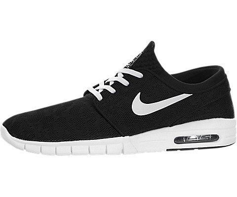 Nike Men's Stefan Janoski Max Black/White Skate Shoe 10 Men US (Stefan Janoski Nike Shoes compare prices)