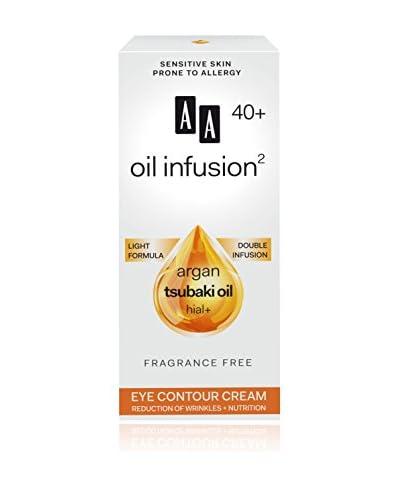 AA Cosmetics Crema Contorno Occhi Oil Infusion 40+ 15 ml