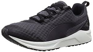 PUMA Women's Ignite XT Core Running Sneaker, Black/Periscope/White, 5.5 B US