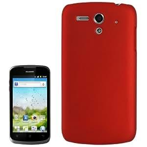 Anti-scratch Plastic Case for Huawei Ascend G300 / U8818 (Scarlet Red)