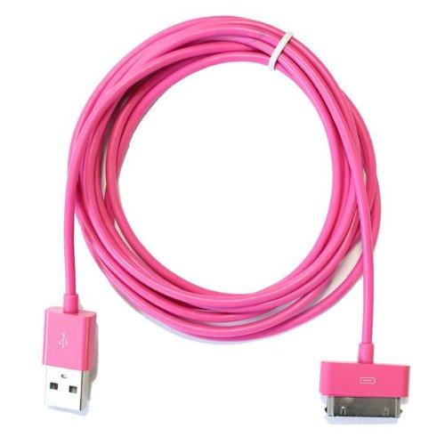 Excellente Best 2 mètres 30 broches Câble USB / plomb (Rose) compatiable pour Apple Ipad3, iPad2, iPad 3G, 3GS, 4, 4S et séries Ipod