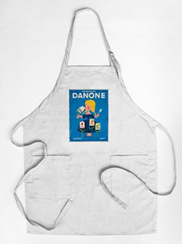 danone-vintage-poster-artist-gauthier-france-c-1955-quality-cotton-polyester-chefs-apron