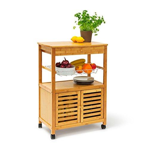 Küchenwagen | Küchenwagen aus Bambus