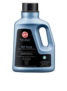 Hoover Platinum Collection Pet Plus Carpet-and-Upholstery Detergent, 50 Ounces, AH30035