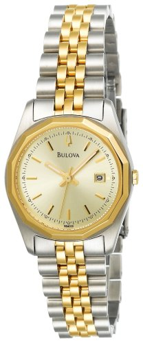 Bulova Women's 98M000 Bracelet Calendar Watch