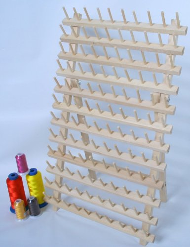 New Threadsrus 120 Spool Thread Rack for Sewing - Quilting - Embroidery Spools and Mini Cones