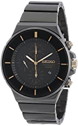 Seiko Men's SNDD57 New Collection Classic Chronograph Watch