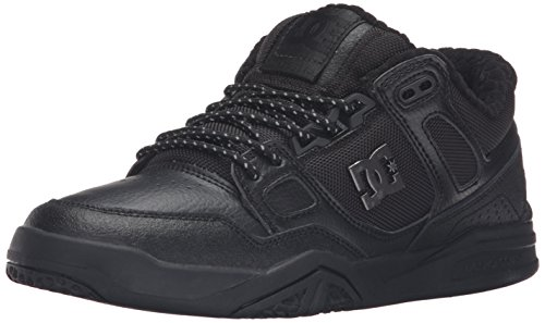 DC Men's Stag 2 SE Skate Shoe, Black, 12 M US