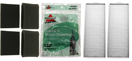 Bissell Lift-Off Supply Kit. Includes (4) Style 7 and 8 Foam Filter Kits, (2) Style 8 HEPA Filters, (2) Style 8 Belts (Bissell Vacuum Belt 3200 compare prices)