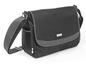 baby innovations messenger diaper bag black discontinued by manufacturer. Black Bedroom Furniture Sets. Home Design Ideas