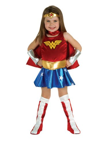 Baby-Toddler-Costume Wonder Woman Toddler Costume Halloween Costume