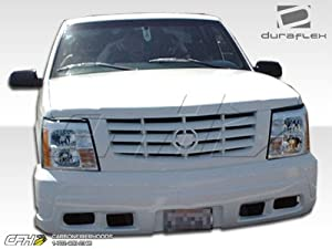 1988-1999 Chevrolet GMC C / K Pickup 1992-1999 Tahoe Yukon Suburban Duraflex Escalade Conversion Front Bumper Cover With Grille - 1 Piece