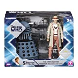 Doctor Who Fifth Doctor with Dalek Figure Set
