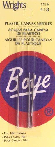 Boye Plastic Canvas Needles, Size 18, 3-Pack