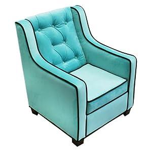 Komfy Kings Komfy Kings Grand Chair - Aqua/Choco from Komfy Kings