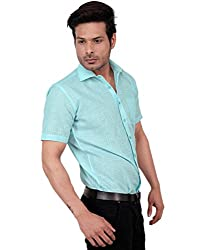 Zeal Light Checkered Formal Half Sleeve Shirt