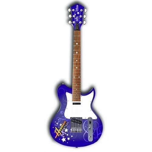 disney by washburn hannah montana 3 4 scale electric guitar. Black Bedroom Furniture Sets. Home Design Ideas