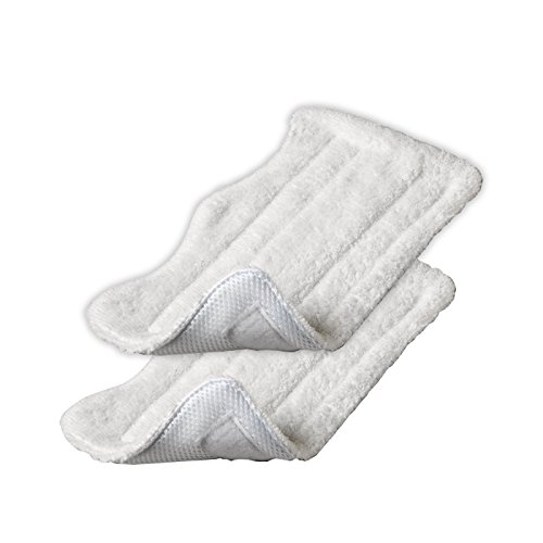 Shp-Zone 2 Packs Euro Pro Shark Steam Mop Replacement Microfiber Pads S3250 S3101 (Set Of 2) front-600244
