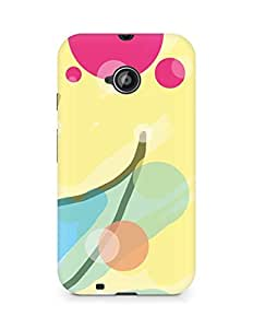 Amez designer printed 3d premium high quality back case cover for Motorola Moto E2 (Pattern)