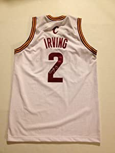 Cleveland Cavaliers Rookie Kyrie Irving Signed Autographed Jersey COA PROOF by Basketball