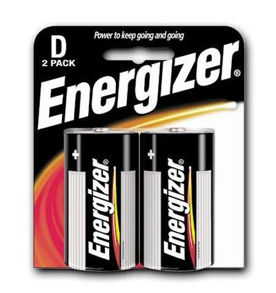 D Batteries 2 Pack Box