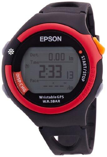 [エプソン リスタブルジーピーエス]EPSON Wristable GPS GPS機能付きランニング機器 FUNランナーモデル レッド SS-300R