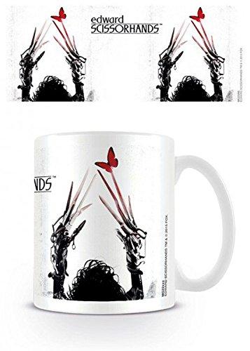 Set: Edward Mani Di Forbice, Delicate Tazza Da Caffè Mug (9x8 cm) e 1 Sticker sorpresa 1art1®