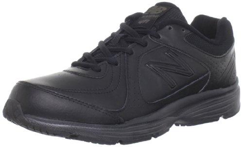 New Balance Women'S Ww411 Health Walking Shoe,Black,9 B Us front-1014451