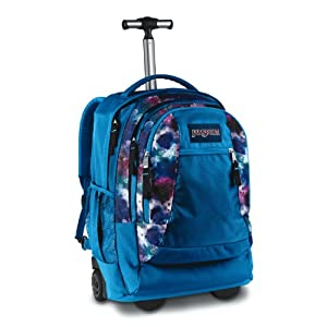 Driver 8 Wheeled Backpack Swedish Bluepink Tulip Spray Can