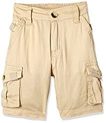 Seals Boys' Shorts (AM8096_1_BEIGE_12)