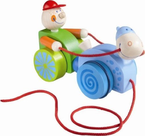 HABA Cody Clip-Clop Pull Toy - 1