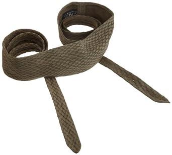 ADA Collection Women's Wrap Belt, Grey Python, One Size