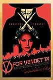 1art1 35047 Poster V pour Vendetta Liberté pour Toujours 91 x 61 cm