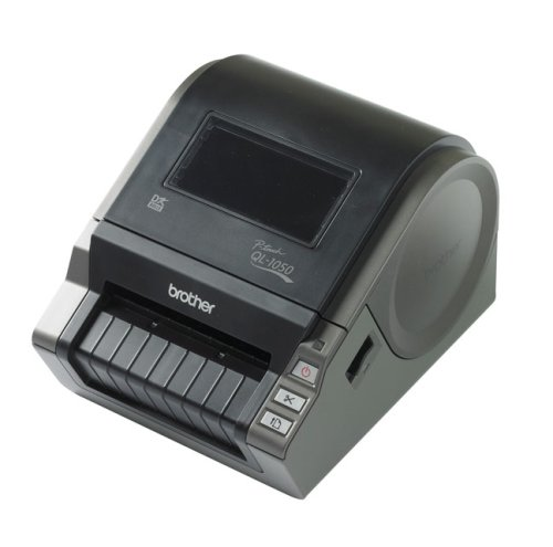 Brother QL 1050 - Label printer - B/W - direct thermal - Roll (10.2cm) - 300 dpi - up to 110 mm/sec - serial, USB