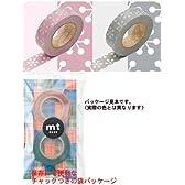 mt マスキングテープ 2P【結晶・ピンク×グレー】 MT02D027