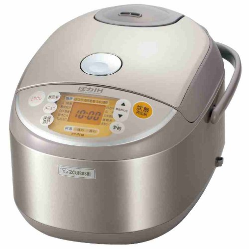 [Ih Pressure Rice Cooker Cook 1] ? Stainless Zojirushi Np-Nv18-Xa back-530462