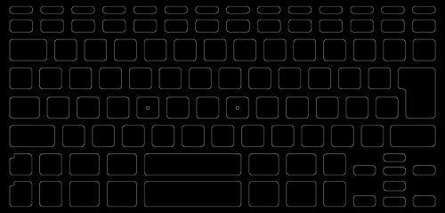 ブラックアウトステッカー for Mac 15mm