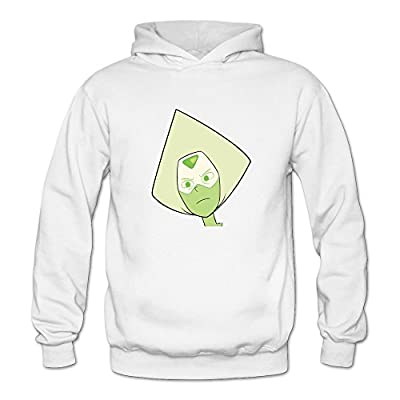 Steven Universe Peridot Vs The Gems Hoody White For Women