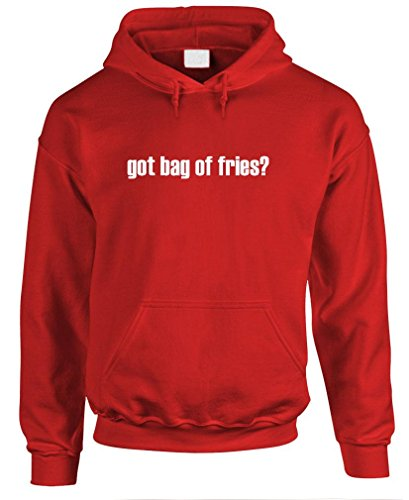 Got Bag Of Fries? - Mens Pullover Hoodie, L, Red