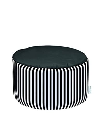Sitting Bull Pouf Fashion Bag Round Olli schwarz/weiß