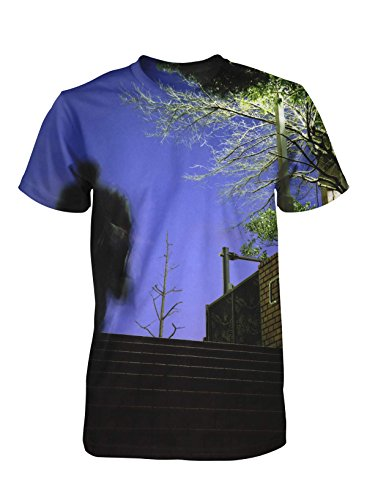 Night Scene Photographic Men'S T Shirt By Peter Marlow, M front-666923