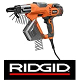 Ridgid R6791 3 In Drywall and Deck Collated Screwdriver by Ridgid (Color: Orange)