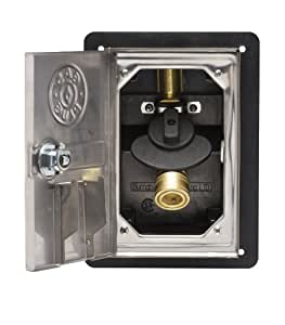 Gas plug gr0101 ss 50 recessed gas outlet box for Ukuran box salon 8 inch
