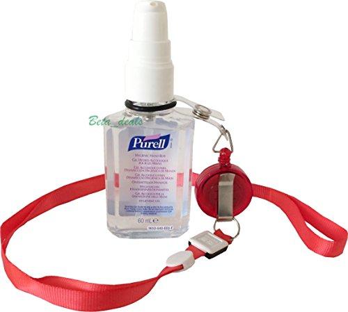 purell-60ml-hand-sanitizer-bottle-free-yoyo-lanyard-retractable-reel-belt-clip-purell-red-lanyard