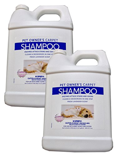 2 Gallons Genuine Kirby Pet Owners Shampoo. Use with all mod