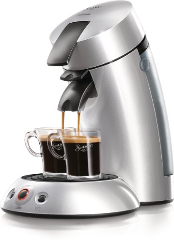 Philips HD 7812/50 Kaffeepadmaschine Senseo silber metallic